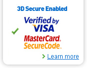3D-secure by Visa and MasterCard